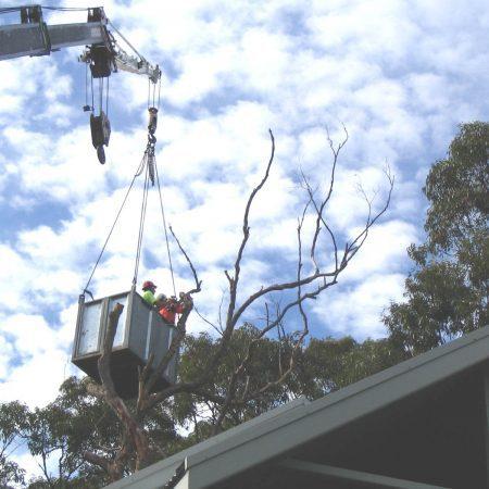 Overhanging roofline